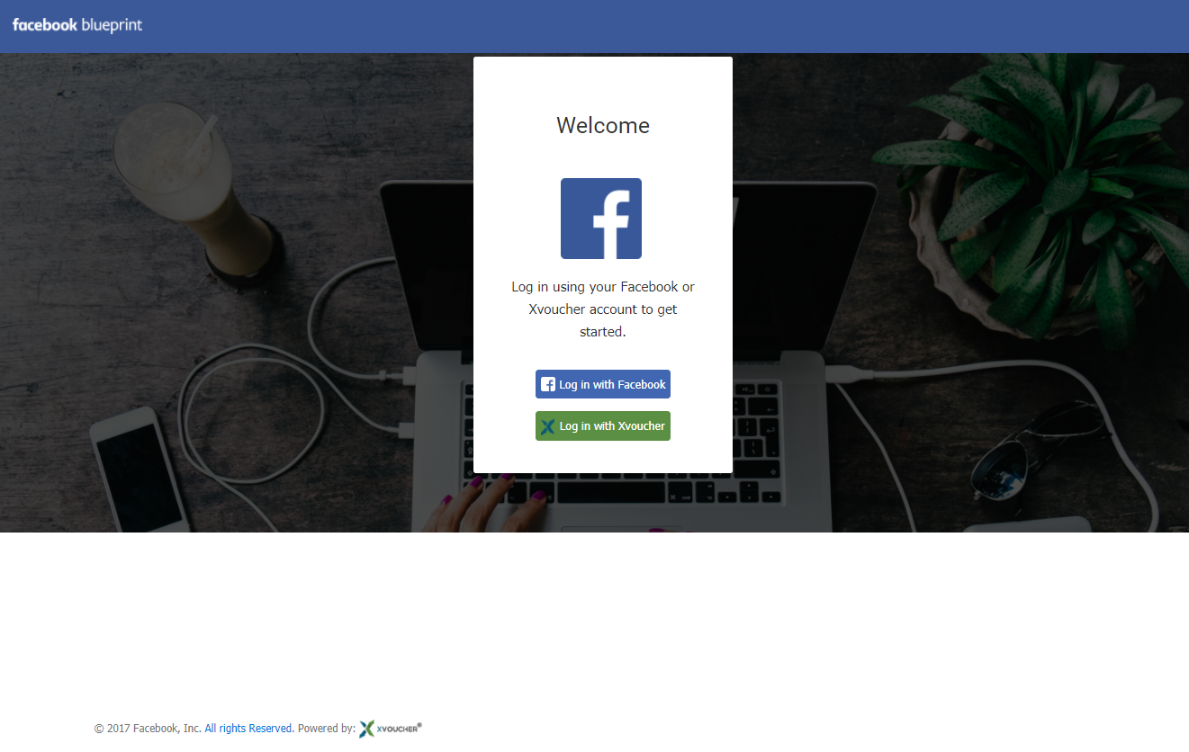 Facebook Branding Login Page